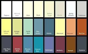 Exterior Paint Comparison Chart Behr Paint Color Chart Hispamun Com