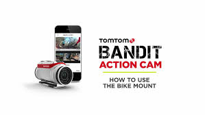Tomtom Bandit Action Camera Bike Pack