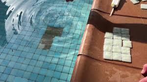 drsails fixing swimming pool tiles
