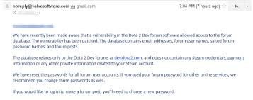 psa dev dota2 com possibly has been hacked july 10th be very