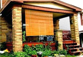 outdoor blinds for porch new bamboo patio shades for outdoor bamboo shades for porch bamboo outdoor