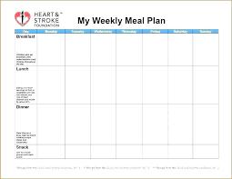Printable Weekly Dinner Menu Printable Menu Planner Template