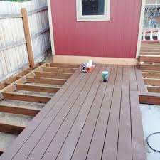 build a floating deck 13 steps with pictures how to build a ground level deck with