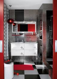 black and red bathroom accessories. Gallant Red Black Dots Stripes Bathroom Accessories Set Personalized With Sets In And
