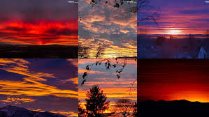 VIEWER PHOTOS: Sunday night's insanely <b>colorful sunset</b>   KUTV