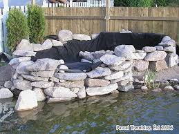 build rock waterfall how to build