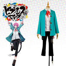 Rap R B Charts Us 37 59 6 Off Japanese Voice Actor Division Rap Battle Fling Posse Ramuda Amemura Easy R Green Uniform Outfit Cosplay Costume For Leisure In Anime