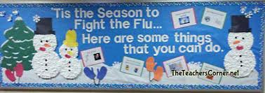 winter bulletin board ideas. Brilliant Winter Tis The Season To Fight Flu Bulletin Board And Winter Ideas I