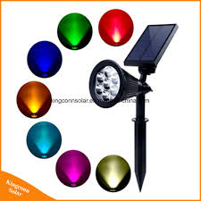 Led Solar Garden Spot Lights Hot Item 7 Led Solar Power Garden Lamp Spot Light Outdoor Lawn Landscape Spotlight Lamp
