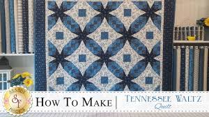 How to Make a Tennessee Waltz Quilt | with Jennifer Bosworth of ... & How to Make a Tennessee Waltz Quilt | with Jennifer Bosworth of Shabby  Fabrics Adamdwight.com