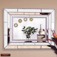 silver large wall mirror silver taita