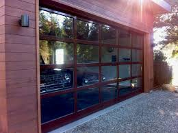 aluminum garage doorCustom 17 ft wide by 8 ft high aluminum door  AJ Garage Door