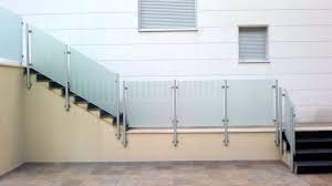 Barandas De Vidrio Para Escaleras Barandas De Vidrio Templado Y AceroBarandas De Cristal Y Acero Inoxidable