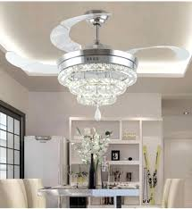 fan with crystal light chandelier light with fan led crystal chandelier fan lights chandelier fan crystal