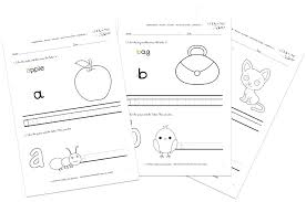Free Printable Writing Worksheets For Kindergarten Letters Name ...