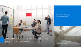 Sharepoint Website Examples What To Choose A Communication Or Team Site In Sharepoint