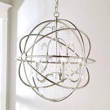 elegant crystal and metal orb chandelier chandeliers for large world market cha