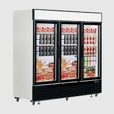 Stand Up Display Freezer Interlevin LGF100 Upright Display Freezer Display Refrigeration 19