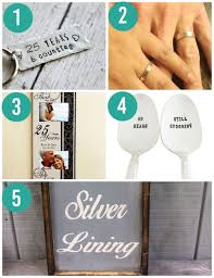silver wedding anniversary gifts 1 25th