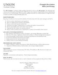 Chic Internal Job Posting Resume Examples For Your Internal