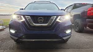 2018 Nissan Rogue Factory Fog Lamp Replace With Led Bulb