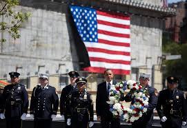 Obama Honors <b>Bin</b> Laden's Victims at Ground <b>Zero</b> - The New York ...
