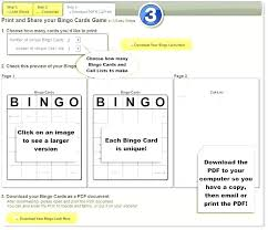 Bingo Game Template Generator Piazzola Co