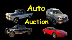Wholesale Auto Auction Car Truck & Vehicle Auctions - YouTube