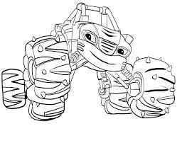 Blaze Coloring Pages Pdf Elegant Blaze And The Monster Machine