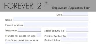 Forever 21 Application 2019 Careers Job Requirements
