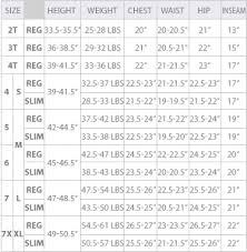 66 Unique Izod Boys Size Chart