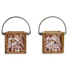 mini wine cork display boxes