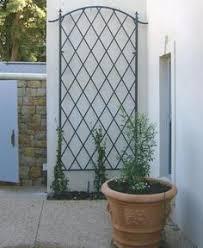 Small Picture 4 x 8 wall trellis garden metalworkcom garden Pinterest