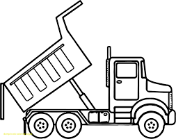 Wonderful Dump Truck Coloring Pages Co 9183 Truck Coloring Pages