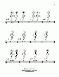 B Flat Soprano Sax Finger Chart Soprano Saxophone Altissimo Finger Chart Posizioni Del