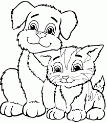 Small Picture Adult dog coloring page Newfoundland Dog Coloring Page