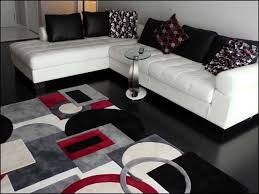 exquisite design black white red. Full Size Of Furniture:incredible Grey And Red Area Rugs Shag Shaggy Modern Gray Black Exquisite Design White