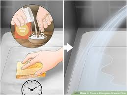 3 ways to clean a fiberglass shower floor cleaning fiberglass shower pan
