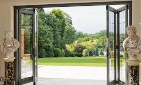 bi fold exterior patio doors beautiful bi fold glass doors exterior cost doors design ideas