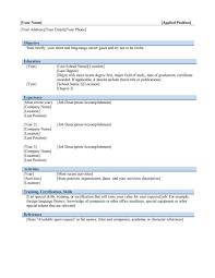Attractive Curriculum Vitae Template Word 2003 Ornament Resume