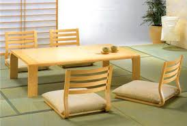 japanese furniture plans. Dining Room Furniture For Minimalist Japanese Style Plans