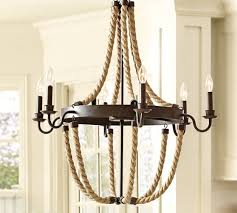 griffin rope chandelier