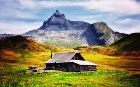 Mountain House Wallpaper Hd - Nature ...