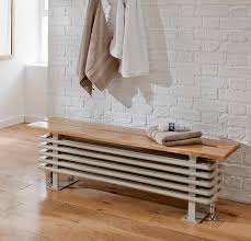 The Ancona bench seat radiator is perfect in so many different rooms. A  very practical solution for a small space, without sacrificing design.