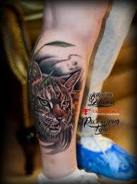 татуировка рысь тату салон юрец удалец философия тату