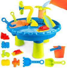 Amazon.com: UNIH Beach Toys Sand Toys Set, Sand and Water Table Sand Molds  Beach Tool Kit,Toddler Toys Sand Playset Sensory Table Toy for Kids Boys  Girls Age 1 2 3 Year Old: