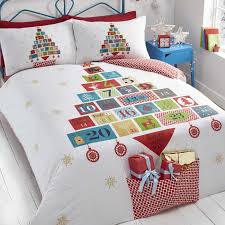 advent festive quilt cover sets