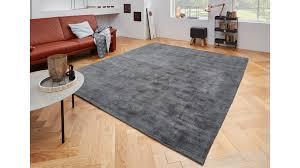 Esszimmer Teppich Grau
