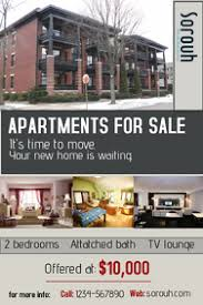 Apartment Flyer Template Magdalene Project Org