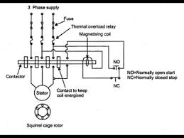 Sizing Of Contactor And Overload Relay For 3 Phase Dol Starter